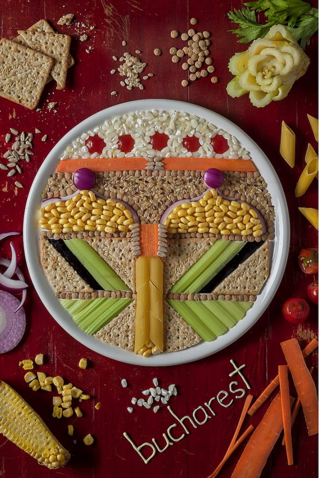 European cities_food art_2