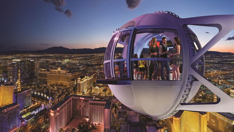 high roller observation wheel las vegas