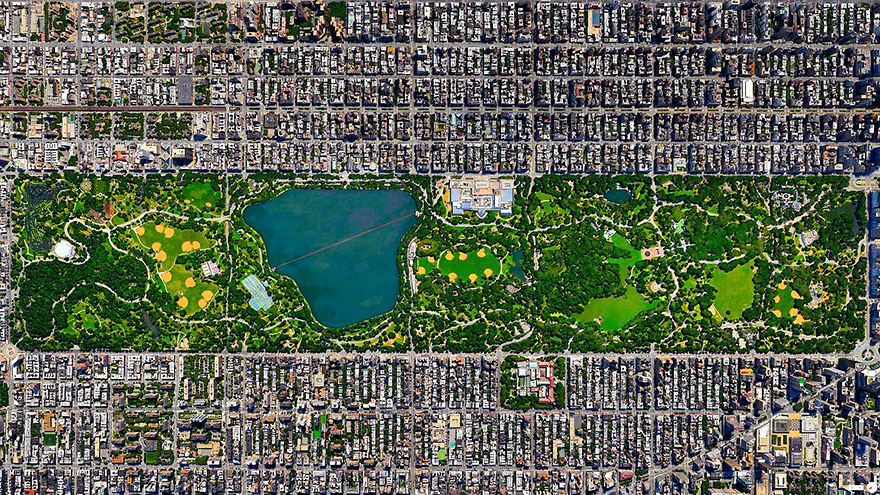 Central Park_satellite_image
