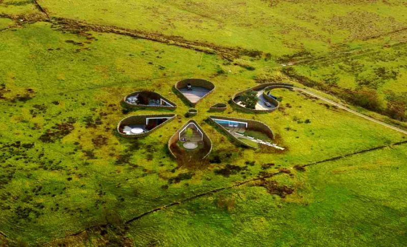 10 Amazing Buildings Inspired By Tolkien Esque Hobbit Homes