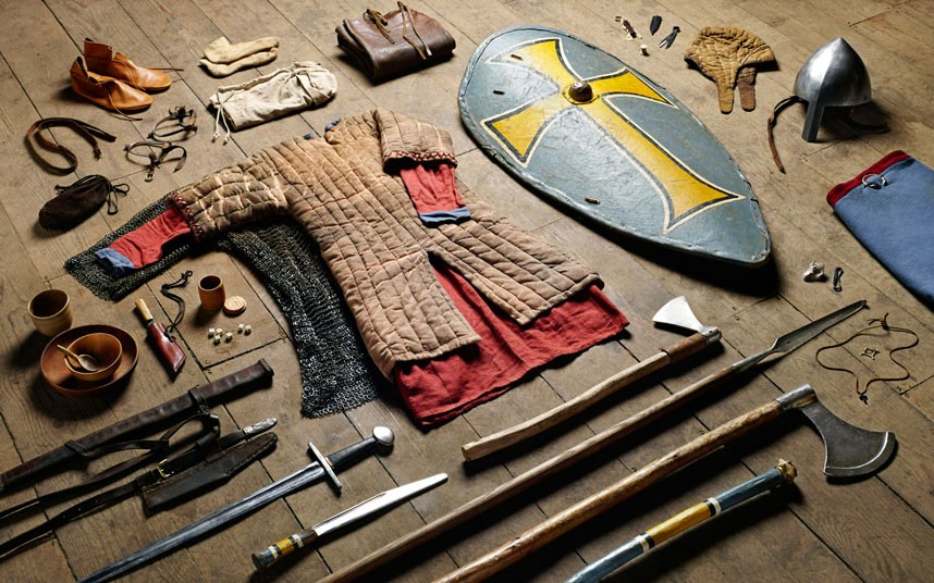 Huscarl gear, Battle of Hastings (1066)