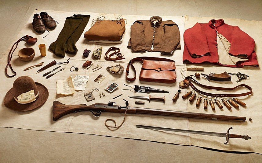 New Model Army musketeer gear, Battle of Naseby (1645)