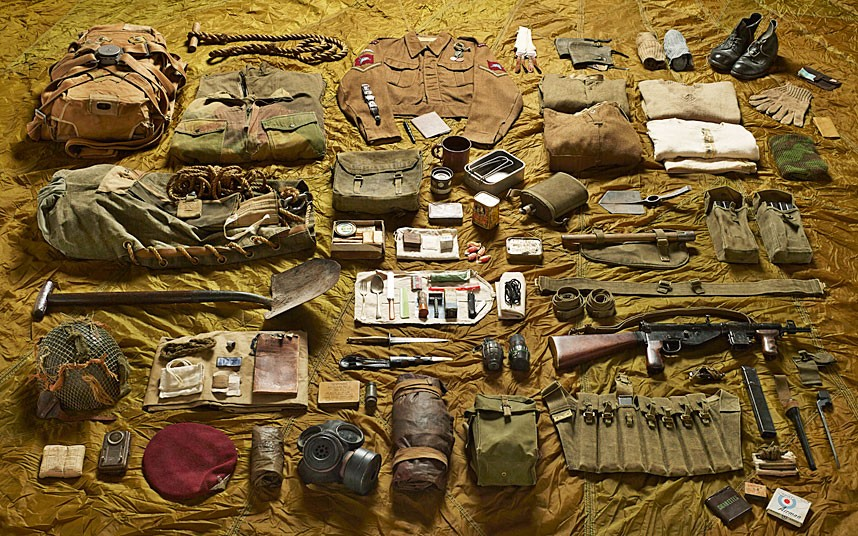 Parachute Regiment gear, Battle of Arnhem (1944)