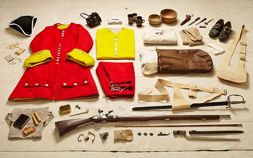 Private Sentinel gear, Battle of Malplaquet (1709)