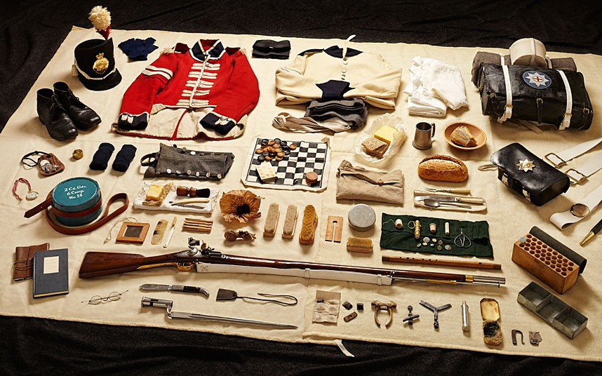 Private Soldier gear, Battle of Waterloo (1815)