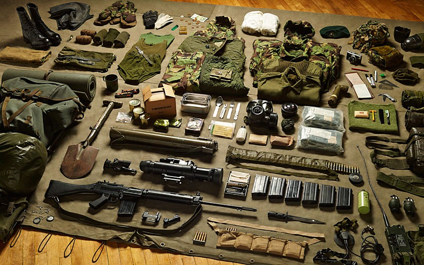 Royal Marine Commando gear, Falklands War (1982)