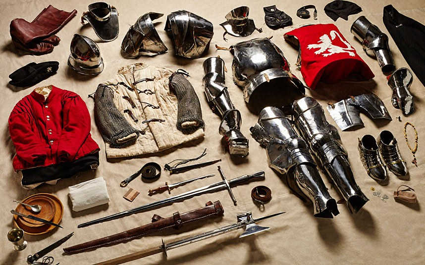Yorkist man-at-arms gear, Battle of Bosworth Field (1485)