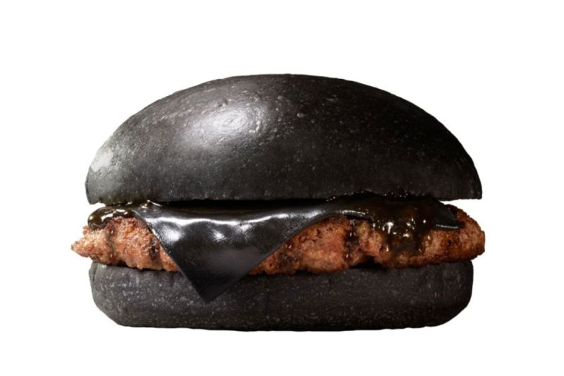 All-black Kuro Burger
