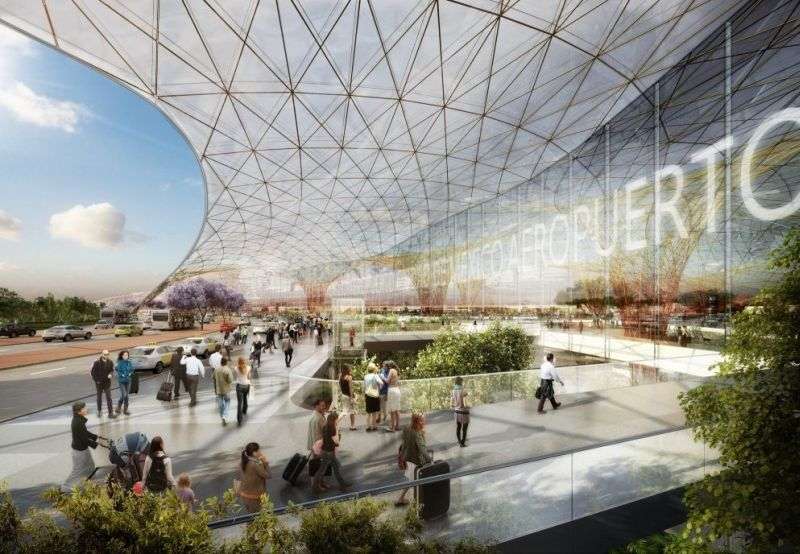 Foster + Partners _mexico-city-airport_2