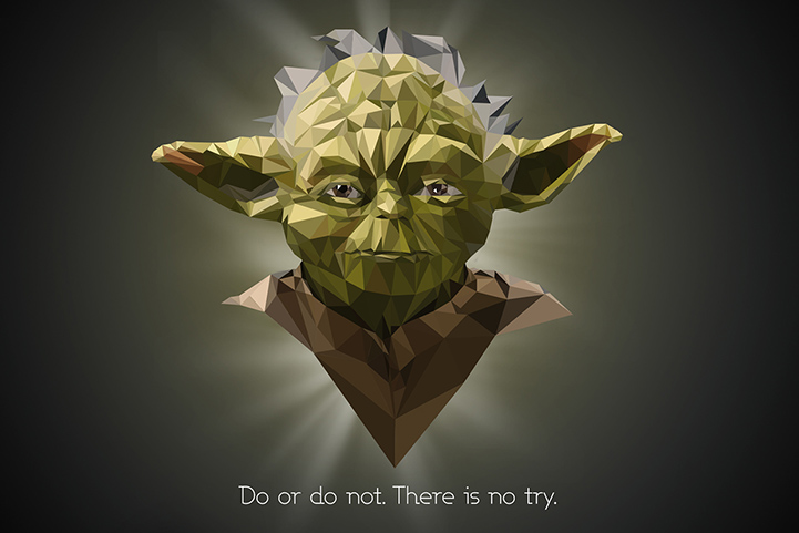 Polygonal art_Star Wars