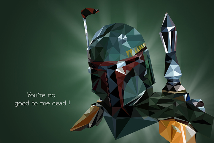 Polygonal art_Star Wars_3