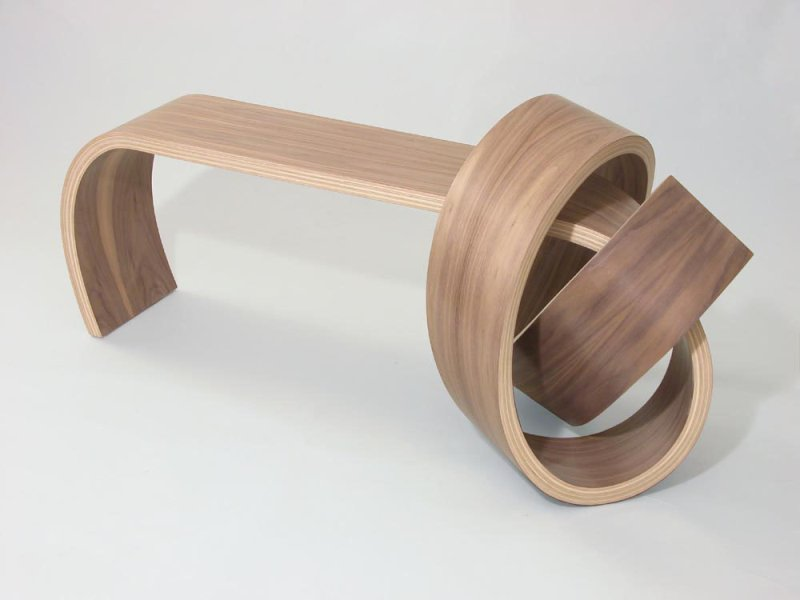 Kino Guerin Designs Furniture Sporting Innovative Wooden Knots