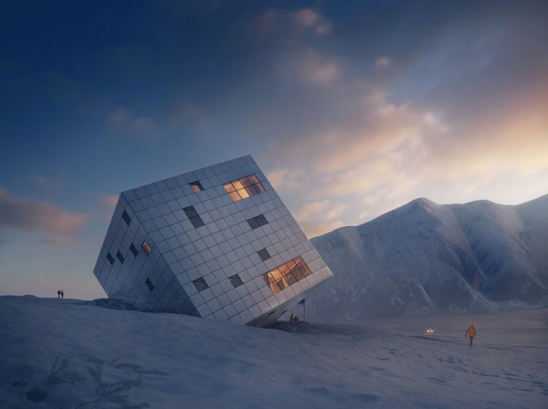 Atelier 8000_Cube_Mountain Hut