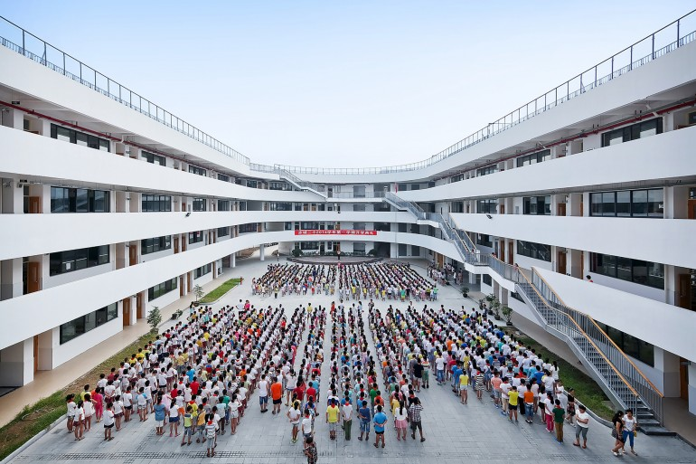 China_Tiantai_Primary School_running track_4