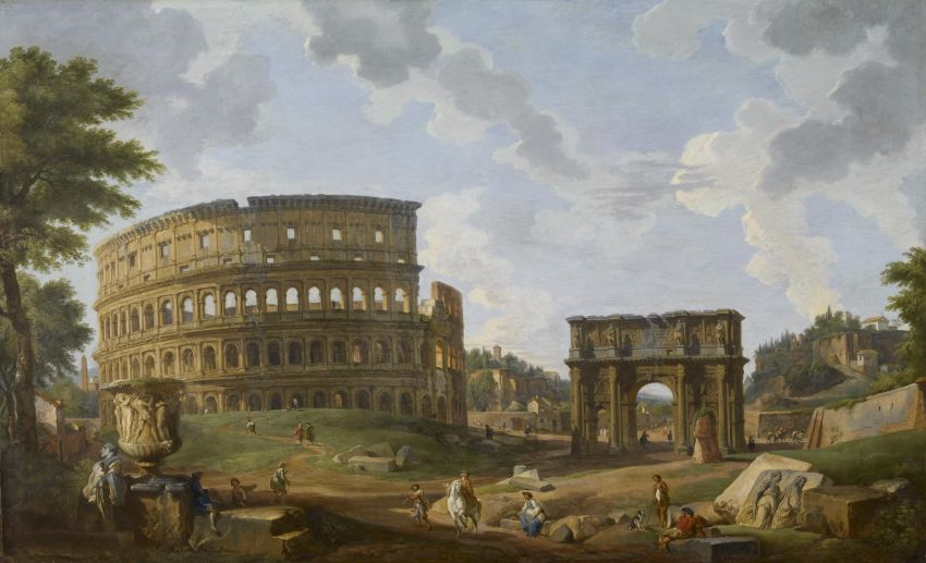 Colosseum_Middle_Ages