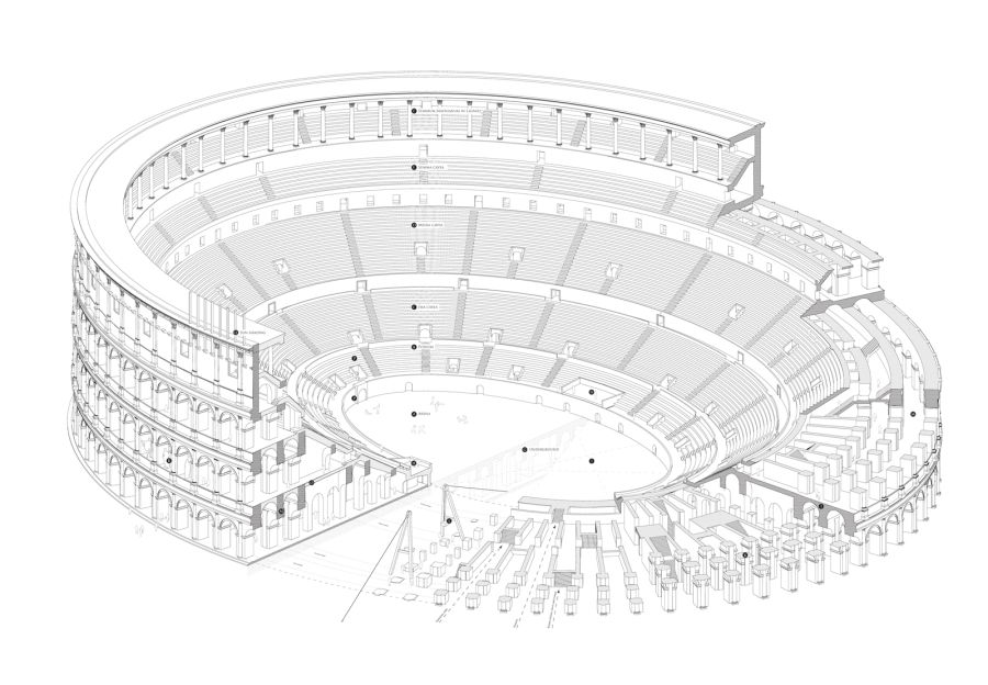 8 Facts About The Colosseum on Roman Colosseum Floor Plan