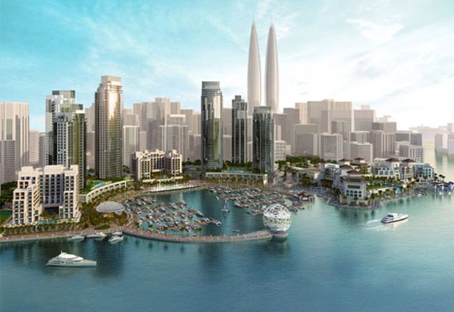 Dubai-Creek-Harbour-world_tallest_twin_towers_1