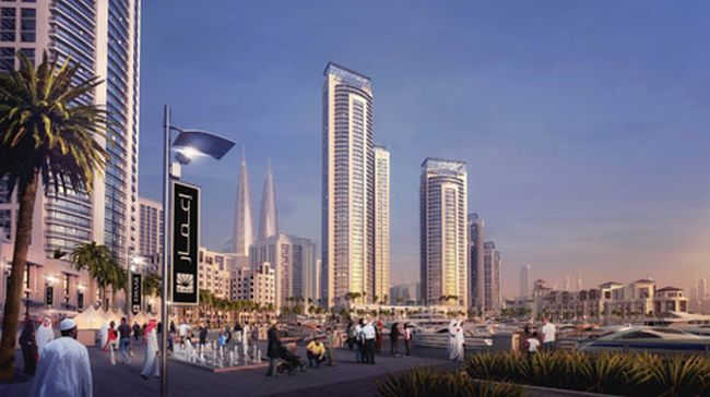 Dubai-Creek-Harbour-world_tallest_twin_towers_4