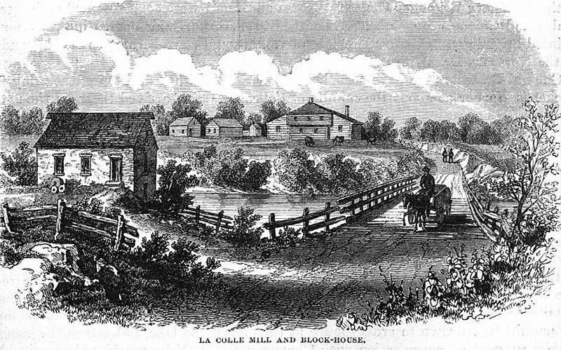 The Second Battle of Lacolle Mill