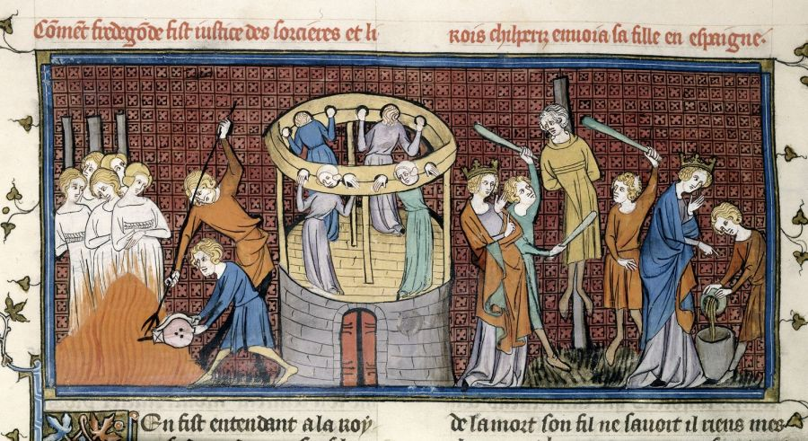 Witch_burial_middle-ages_1