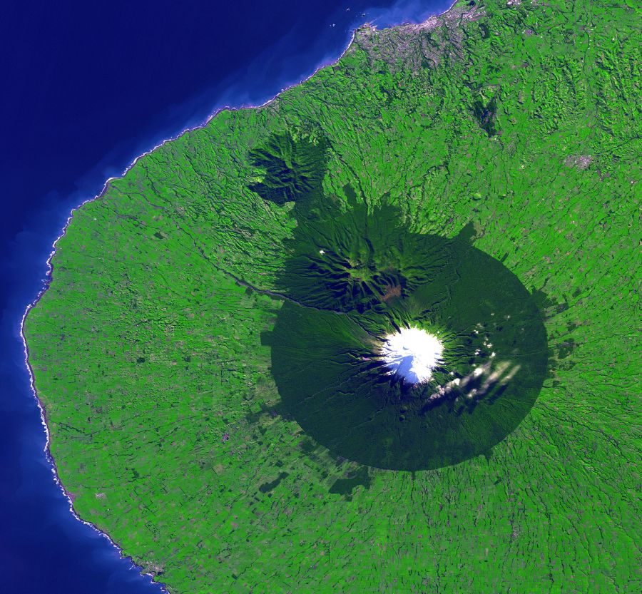 Egmont National Park_Satellite Image
