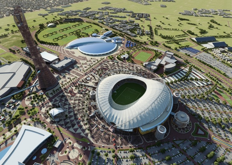 Khalifa International Stadium in Qatar_2