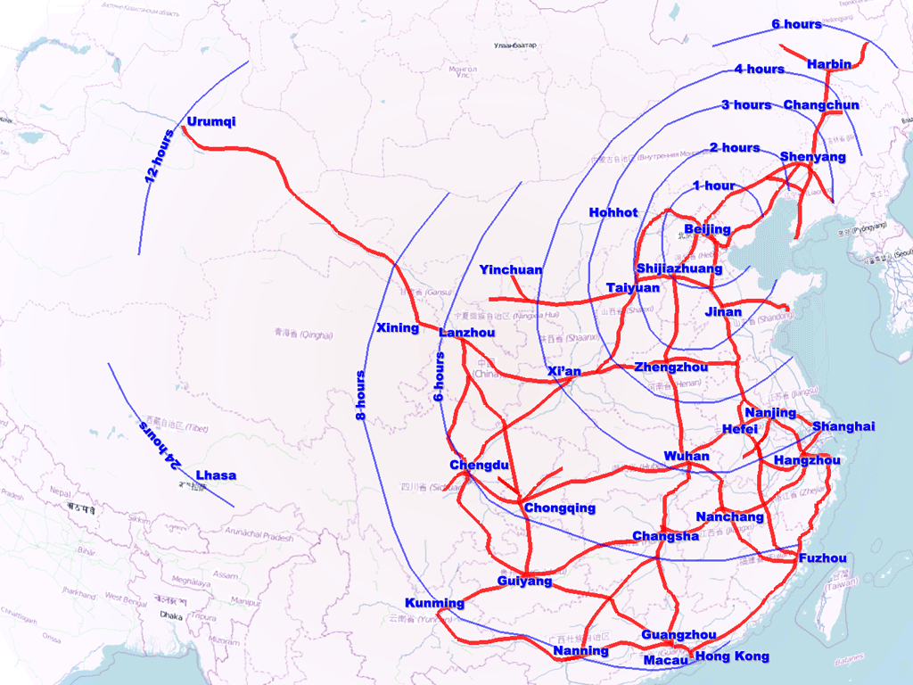 A Brief History of High-Speed Rail - TIME |High Speed Rail History