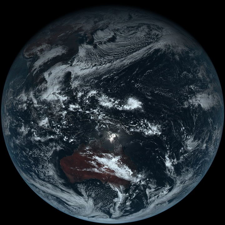 Color-Photograph-of-Earth