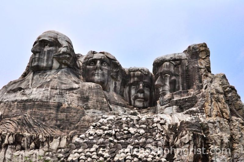 Japanese Mount Rushmore
