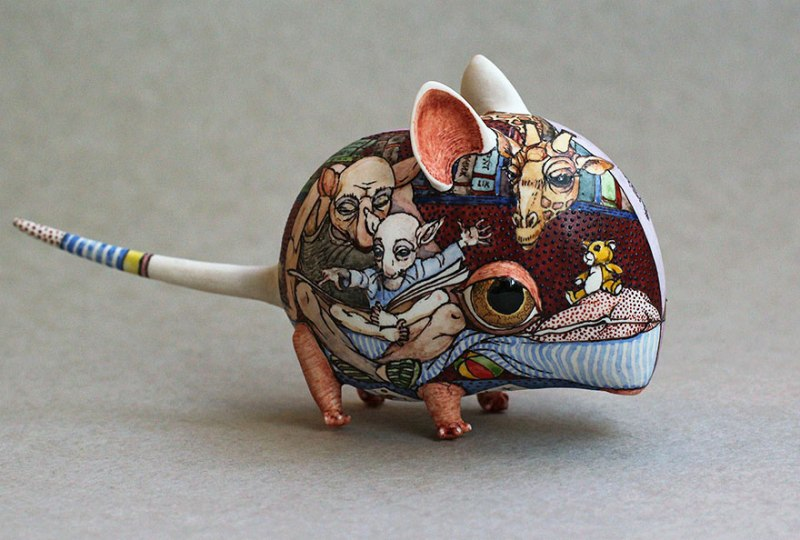 Porcelain Animal Sculptures-5