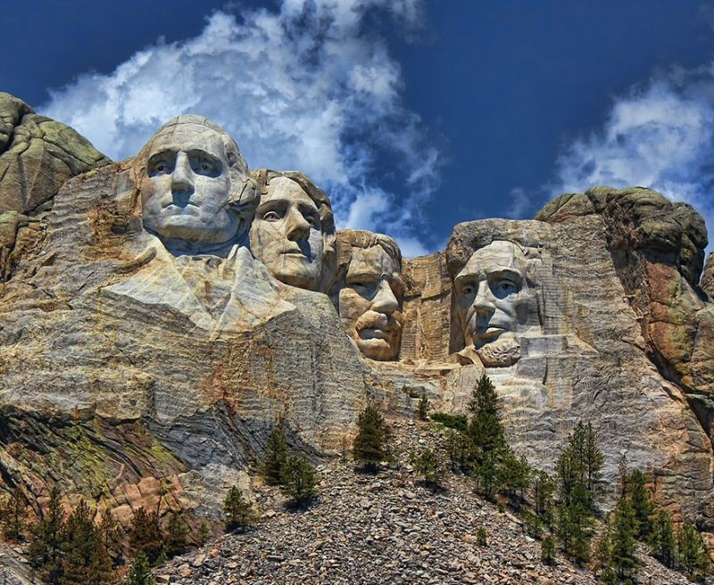 Original Mount Rushmore