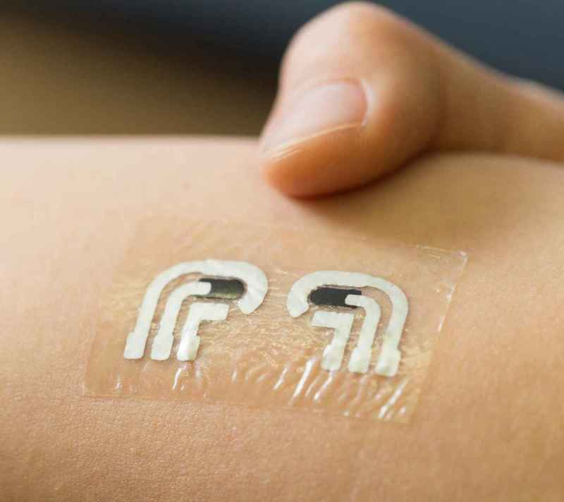 Temporary Tattoo For Glucose Level-3