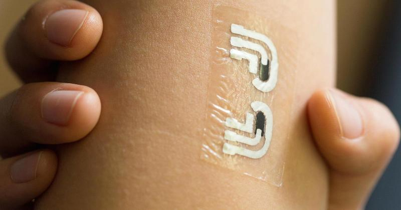 Temporary Tattoo For Glucose Level-4
