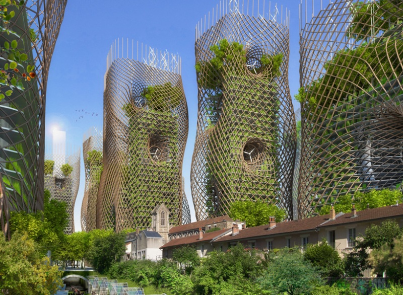 Vincent Callebaut's Vision of Paris-1