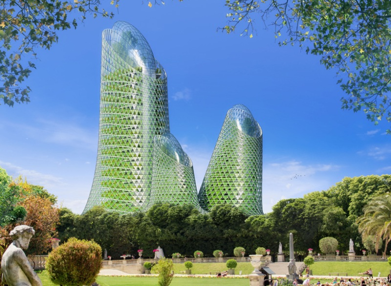 Vincent Callebaut's Vision of Paris-10