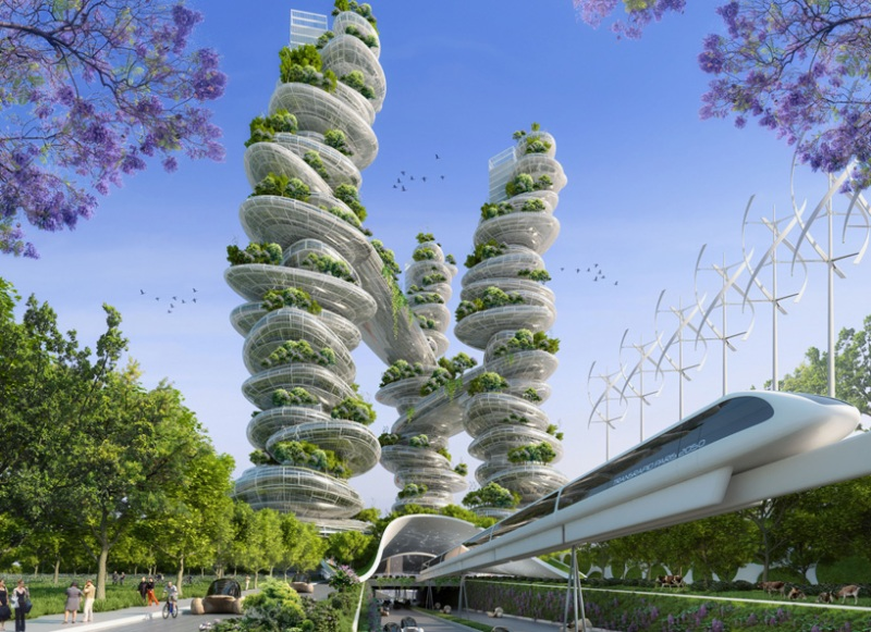 Vincent Callebaut's Vision of Paris-11