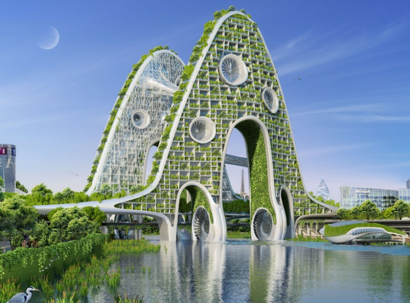Vincent Callebaut's Vision of Paris-2