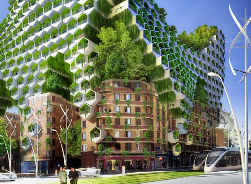 Vincent Callebaut's Vision of Paris-3
