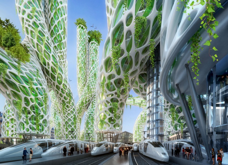 Vincent Callebaut's Vision of Paris-4