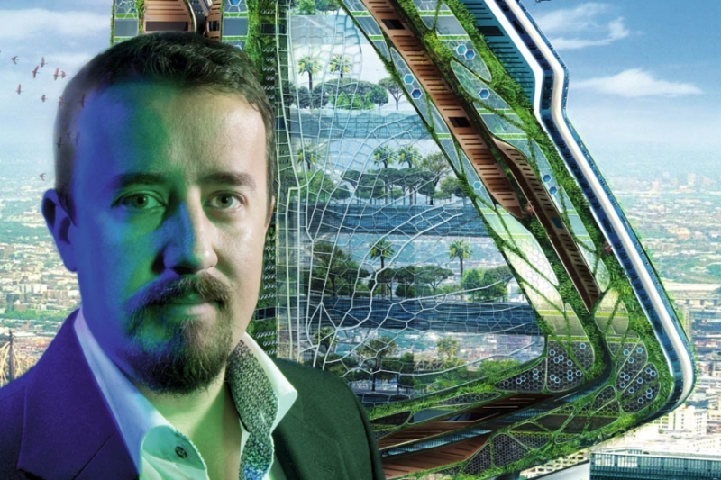 Vincent Callebaut's Vision of Paris-5