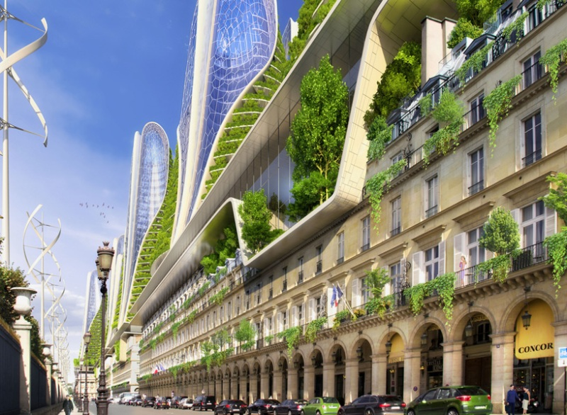 Vincent Callebaut's Vision of Paris-8