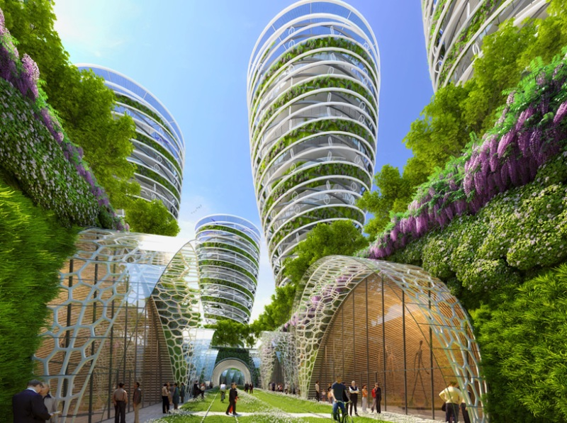 Vincent Callebaut's Vision of Paris-9