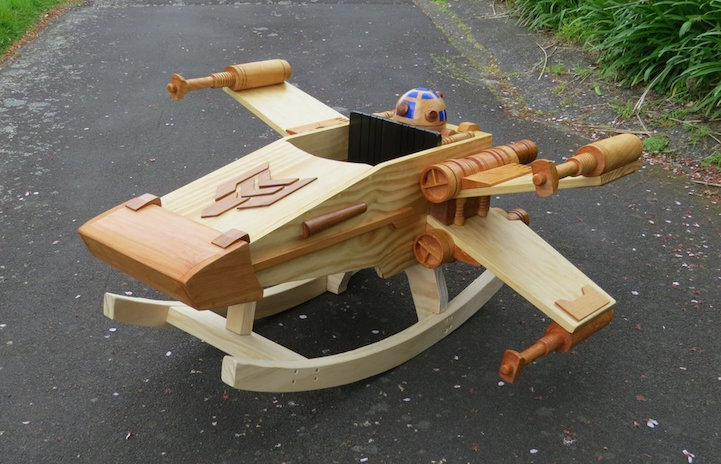 X-Wing Starfighter_Ride-On Rocker_1