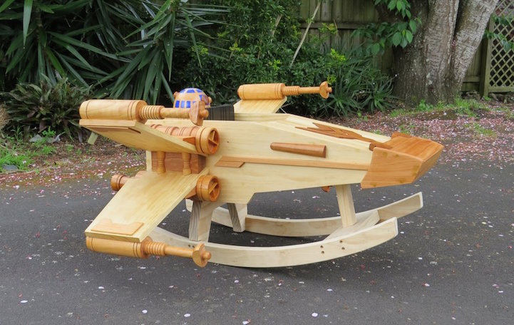 X-Wing Starfighter_Ride-On Rocker_2