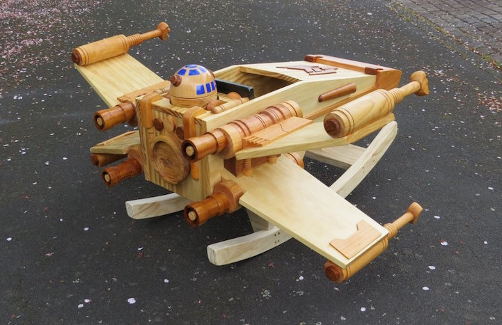 X-Wing Starfighter_Ride-On Rocker_7
