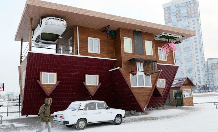 Ilya Naymushin 39 S Photos Of The Upside Down House Of Siberia