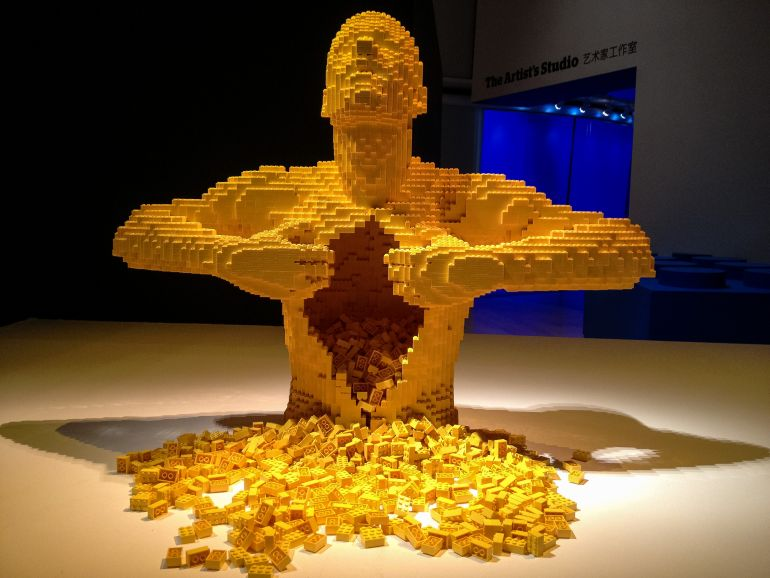 LEGO_Nathan Sawaya_The Art of the Brick