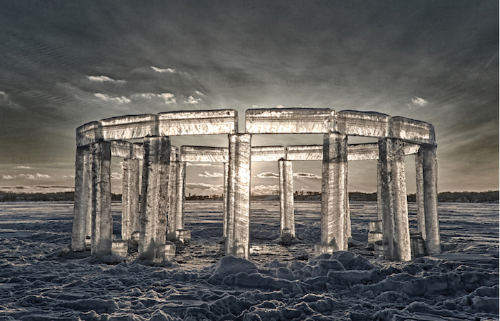 Lake Icehenge_Stonehenge_Rock_lake_Wisconsin_2
