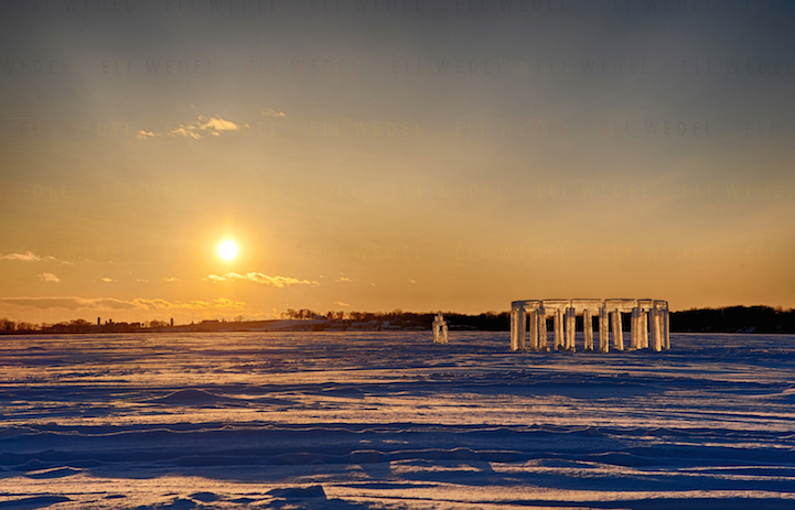 Lake Icehenge_Stonehenge_Rock_lake_Wisconsin_3