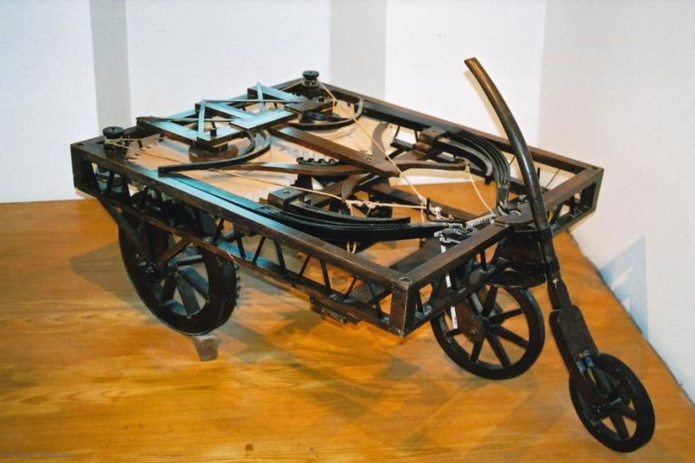 Leonardo da Vinci_Inventions_Self-Propelled Cart